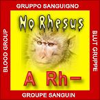 A rh- negativo